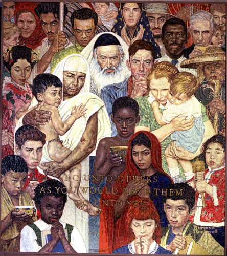 Norman rockwell nations