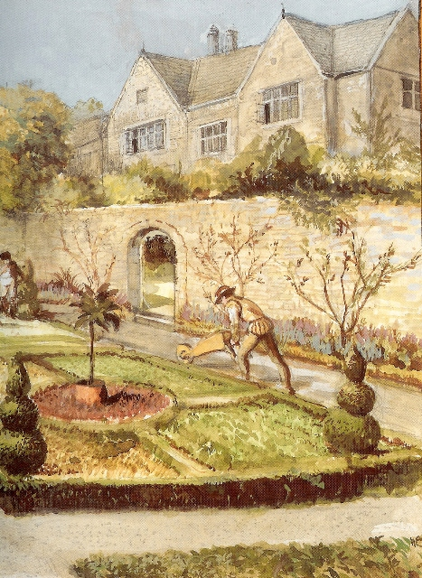 Great days of a country house gardner