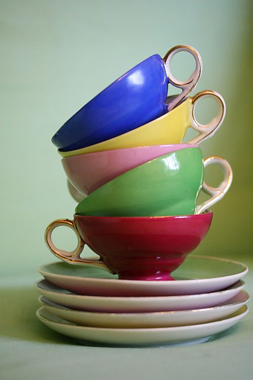 French Tea Cups
