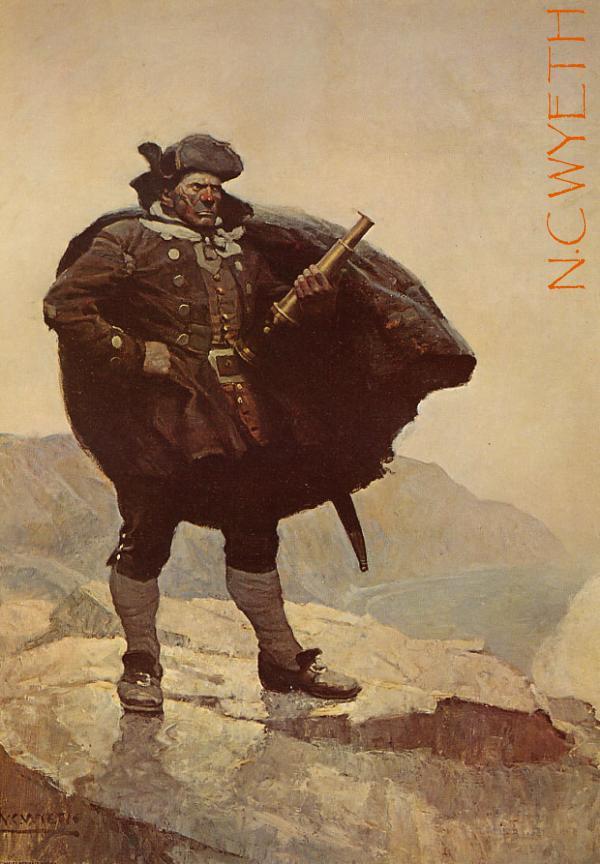 Pirate n. c. wyeth