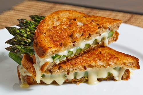 Asparagus Grilled Cheese Sandwich 500
