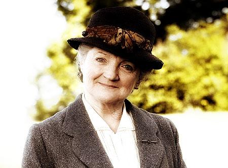 MIss Marple in hat