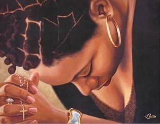 Prayer black-woman-praying