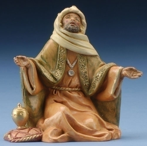 Christmas fontanini wiseman worshipping
