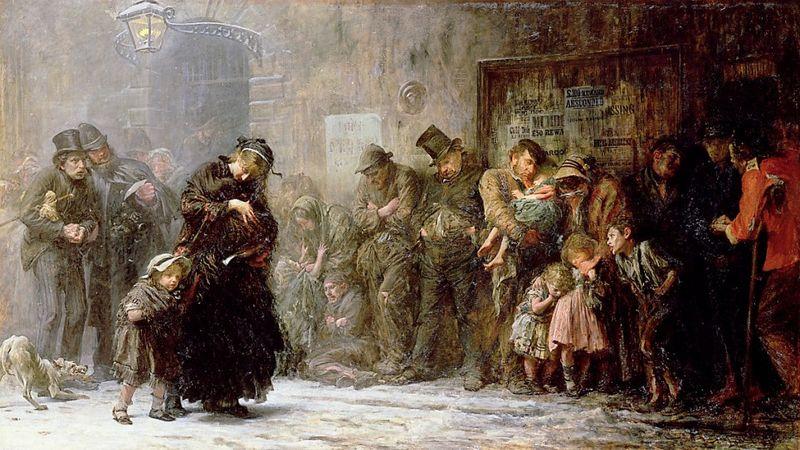 Dickens winter street