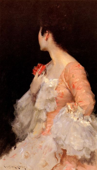 Chase_William_Merritt_Portrait_Of_A_Lady_1890