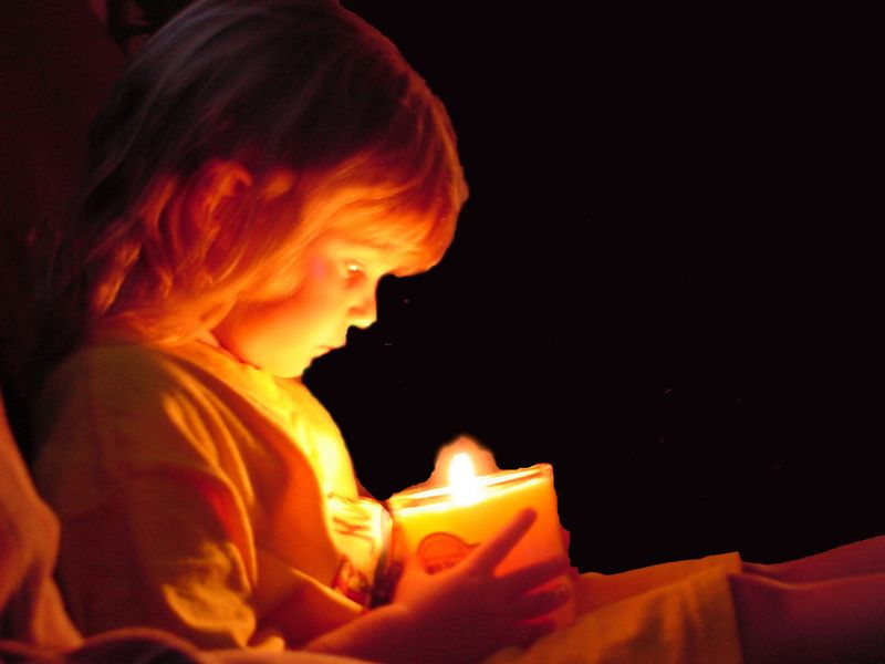 Candle child