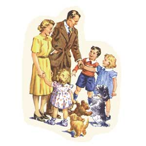 Dick and jane family