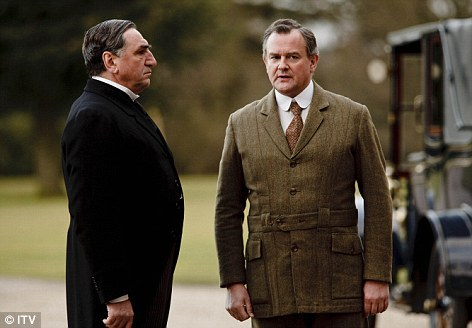 Downton abbey carson and lord grantham
