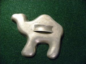 Cookie cutter camel