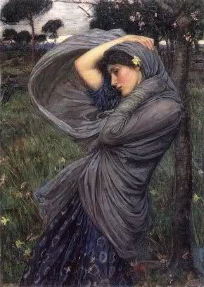 Lady in the Wind Boreas Waterhouse