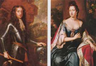 King william and queen Mary