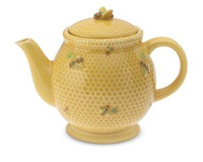 Honey bee teapot