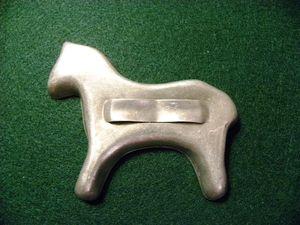 Cookie cutter horse