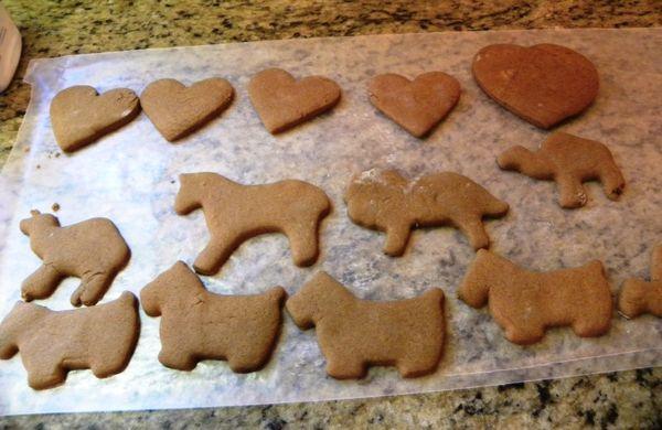 Gingerbread animals 2