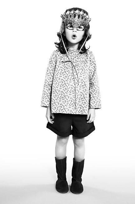 Talc little girl