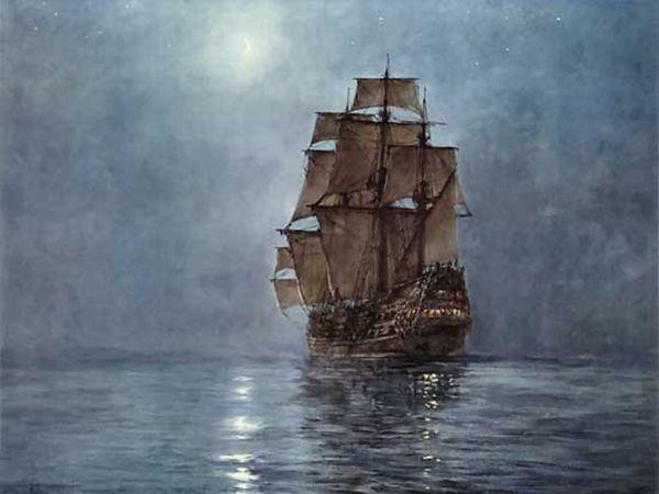 Night ship, dawson