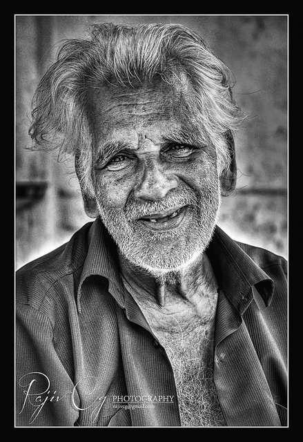 The beauty of old age Rajiv Cg Photography