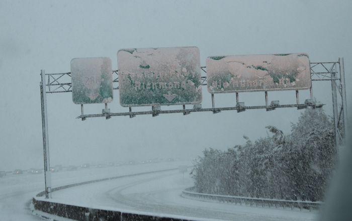 Snow signs