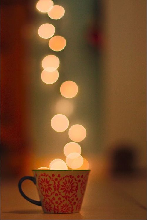 Lights in a cup