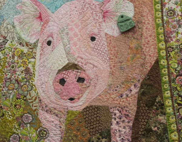 Quilted piggy