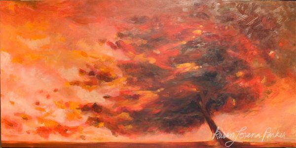 Autumnstormtree Karen Parker