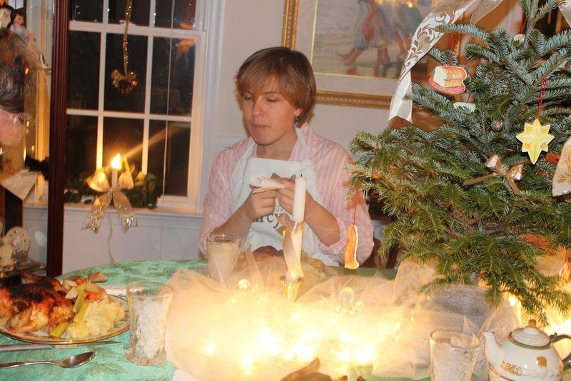 Christmas eve dinner Lori2