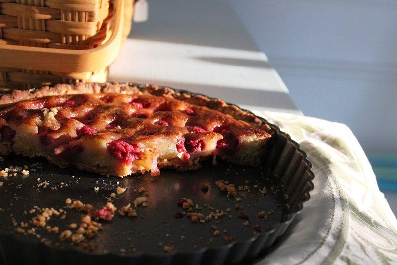 Brown Butter, Raspberry Tart