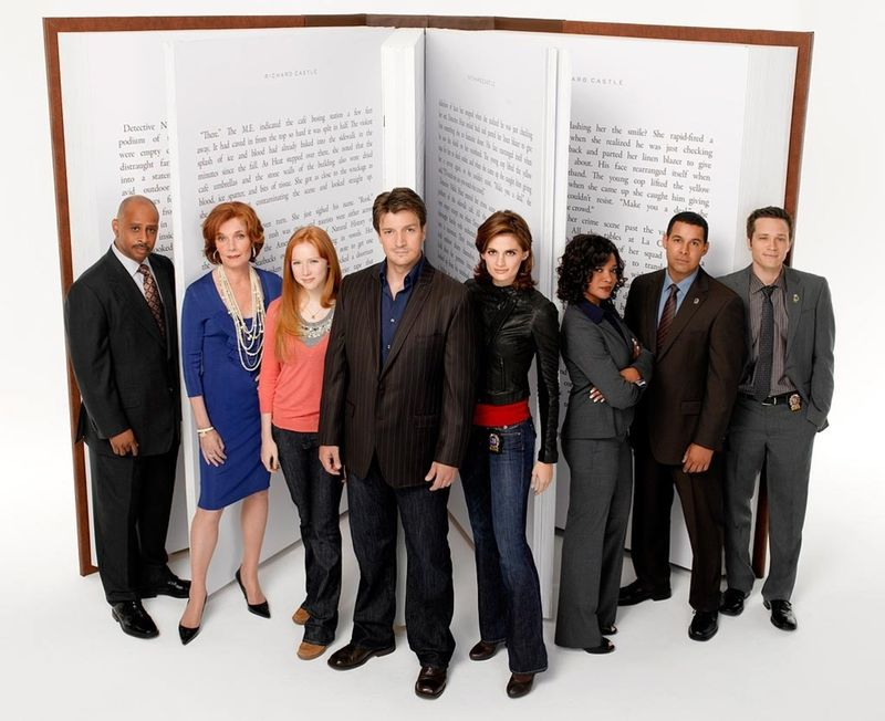 Castle  cast book