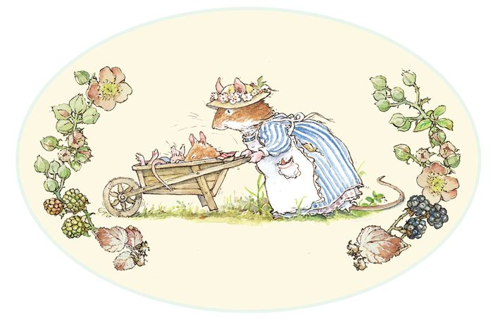Brambly hedge wheel barrow