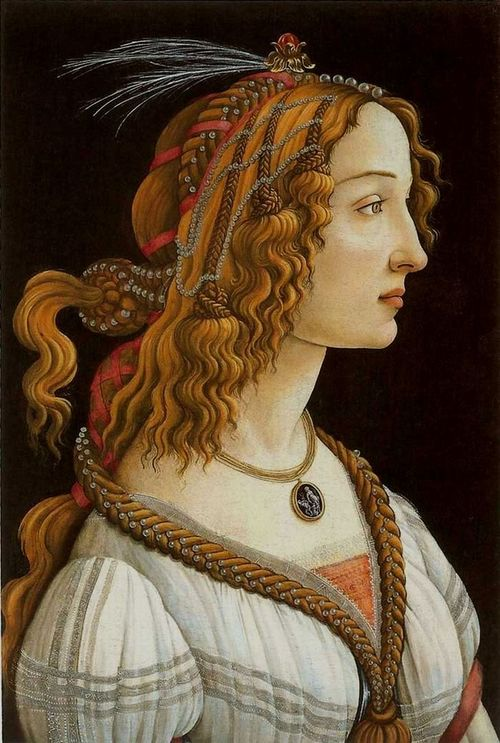 Botticelli Portrait of a Woman