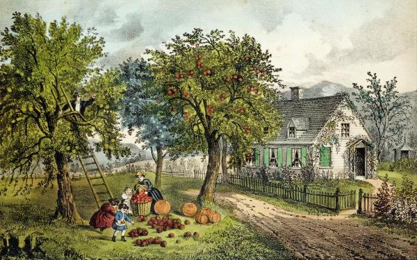 Currier and ives homestead summer