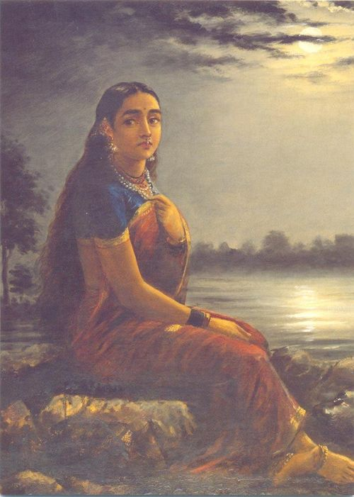 Varma_Raja_Ravi-Lady_in_Moonlight