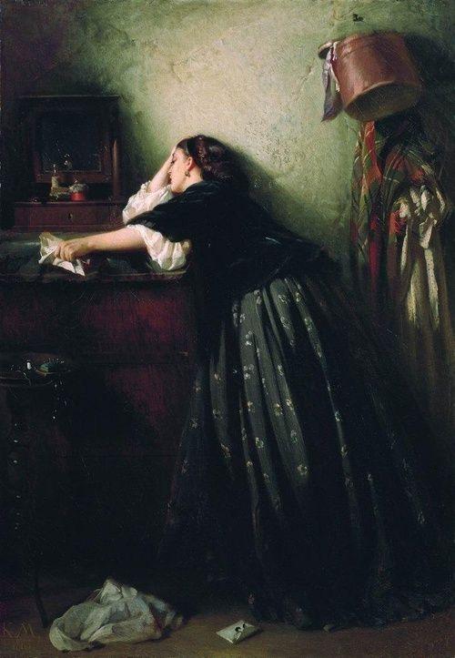 Widow Konstantin Makovsky 1865