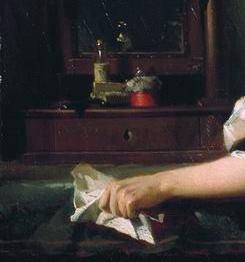 Widow enlarged hand