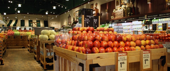 Fresh market apples